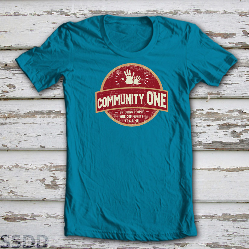 Non profit t shirt design for a company by ssdd design for Non profit t shirt design