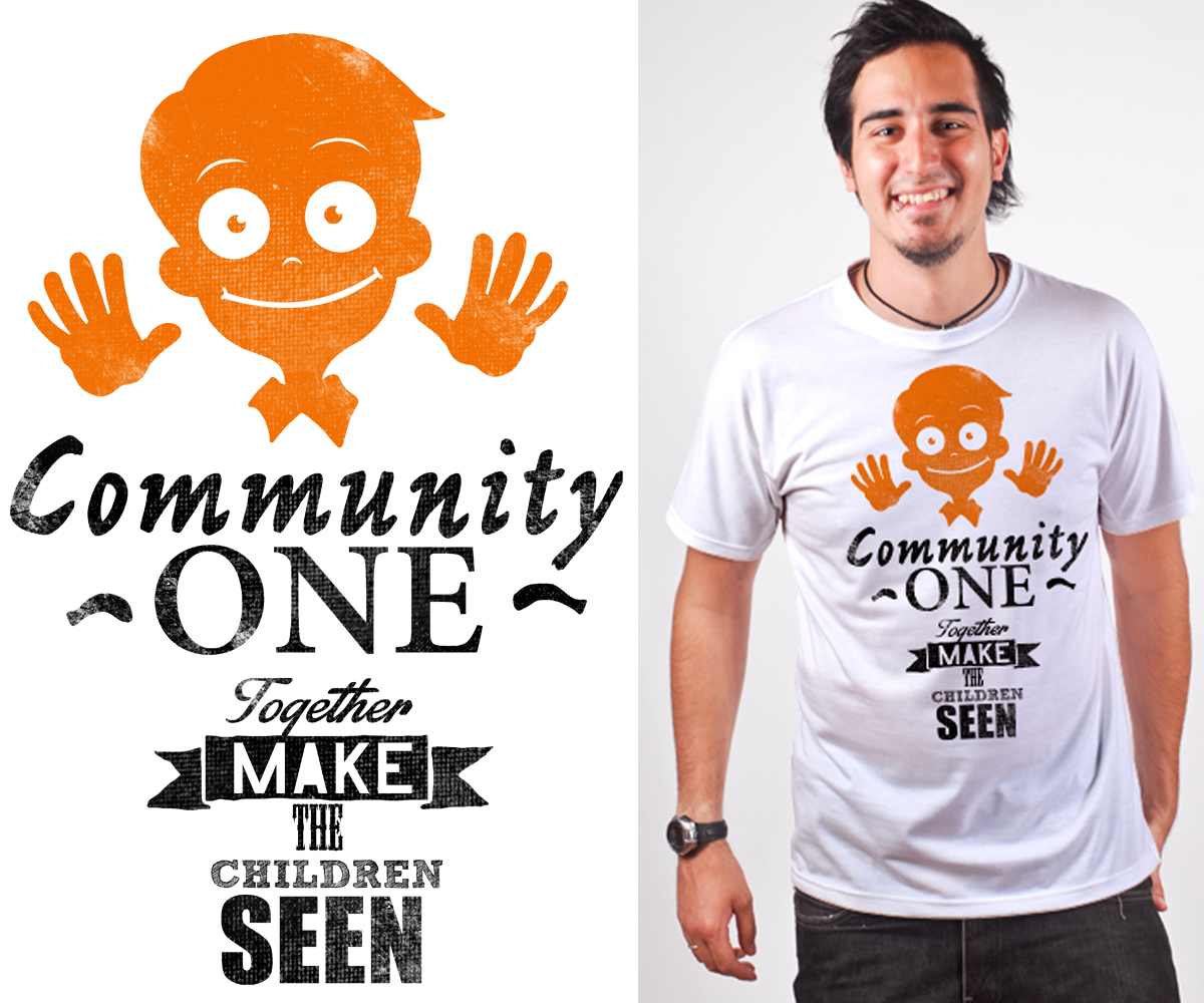 Non profit t shirt design for a company by byx design for Non profit t shirt design