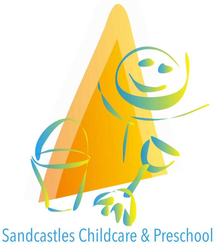 sandcastles preschool childcare logo design for sandcastles childcare 486