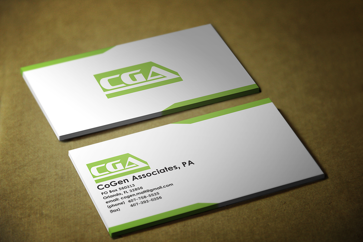 Business card design for cogen associates by alex andu design business card design by alex andu for electrical engineering business card design design 4156738 magicingreecefo Choice Image