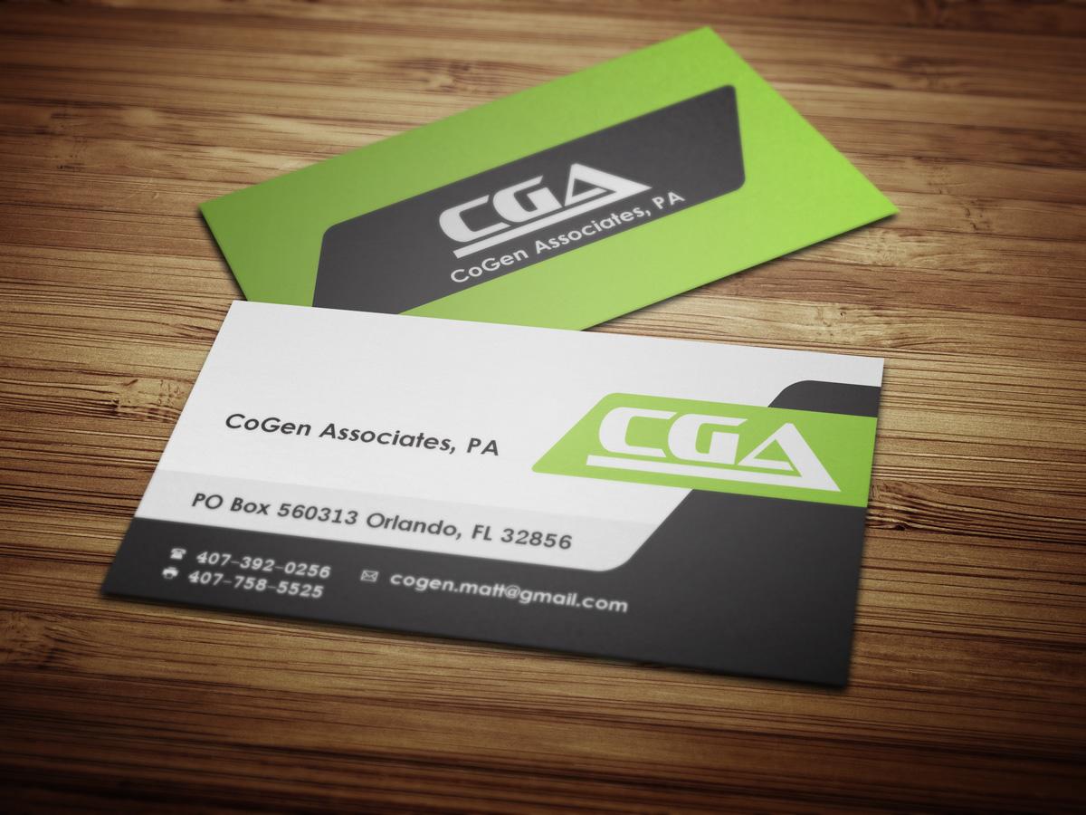 Business Card Design for CoGen Associates by LuCa | Design #4100864