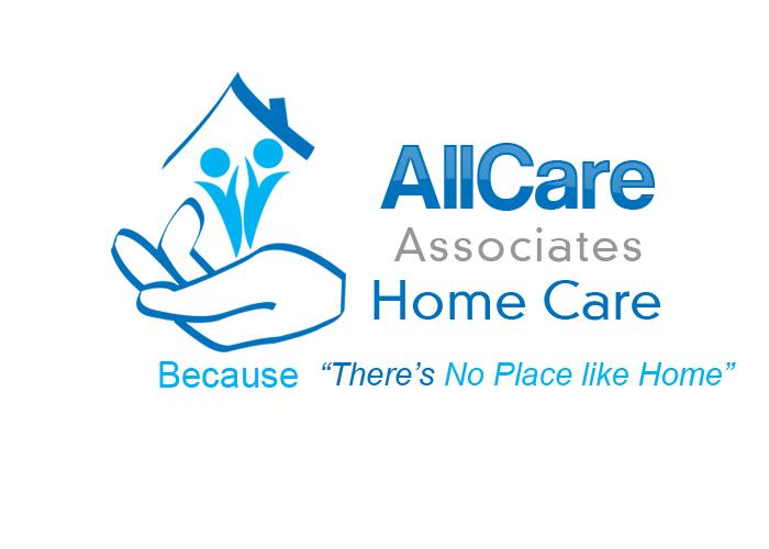 Serious Feminine It Company Logo Design For Allcare Associates Home Care By Katala Design