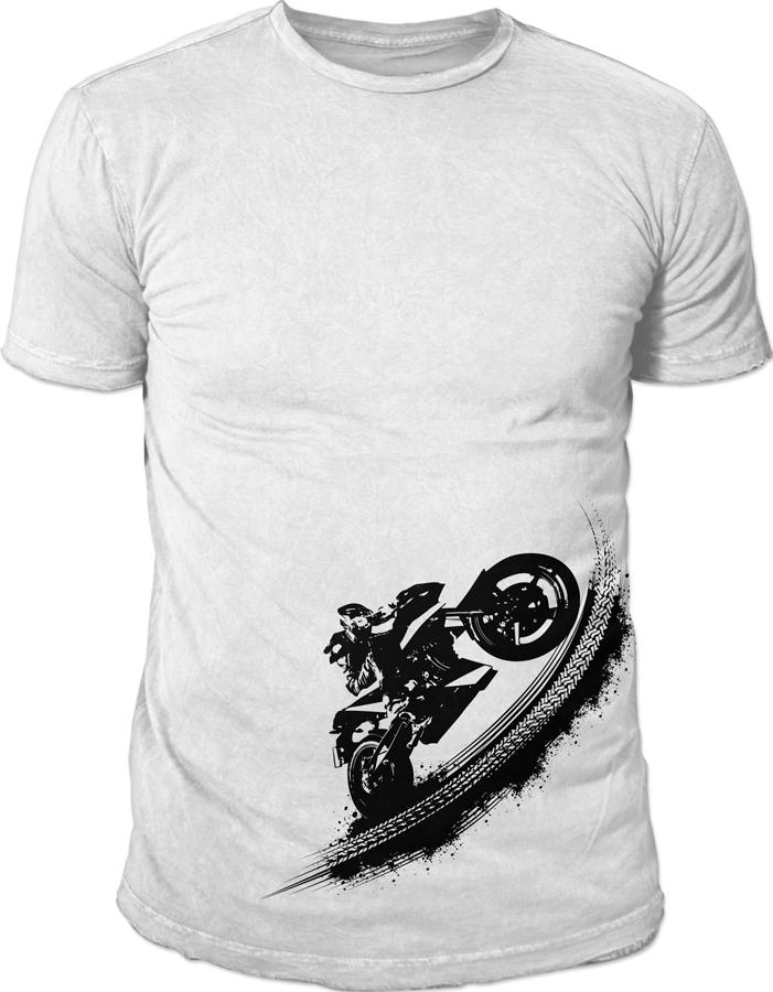 Elegant Modern T Shirt Design For By2ride By Bableo