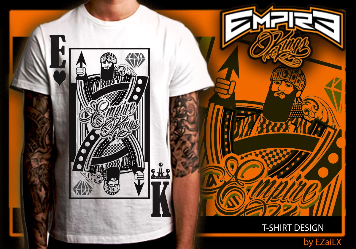 Shirt design card - Modern Upmarket Clothing Tshirt Design By Ezailx