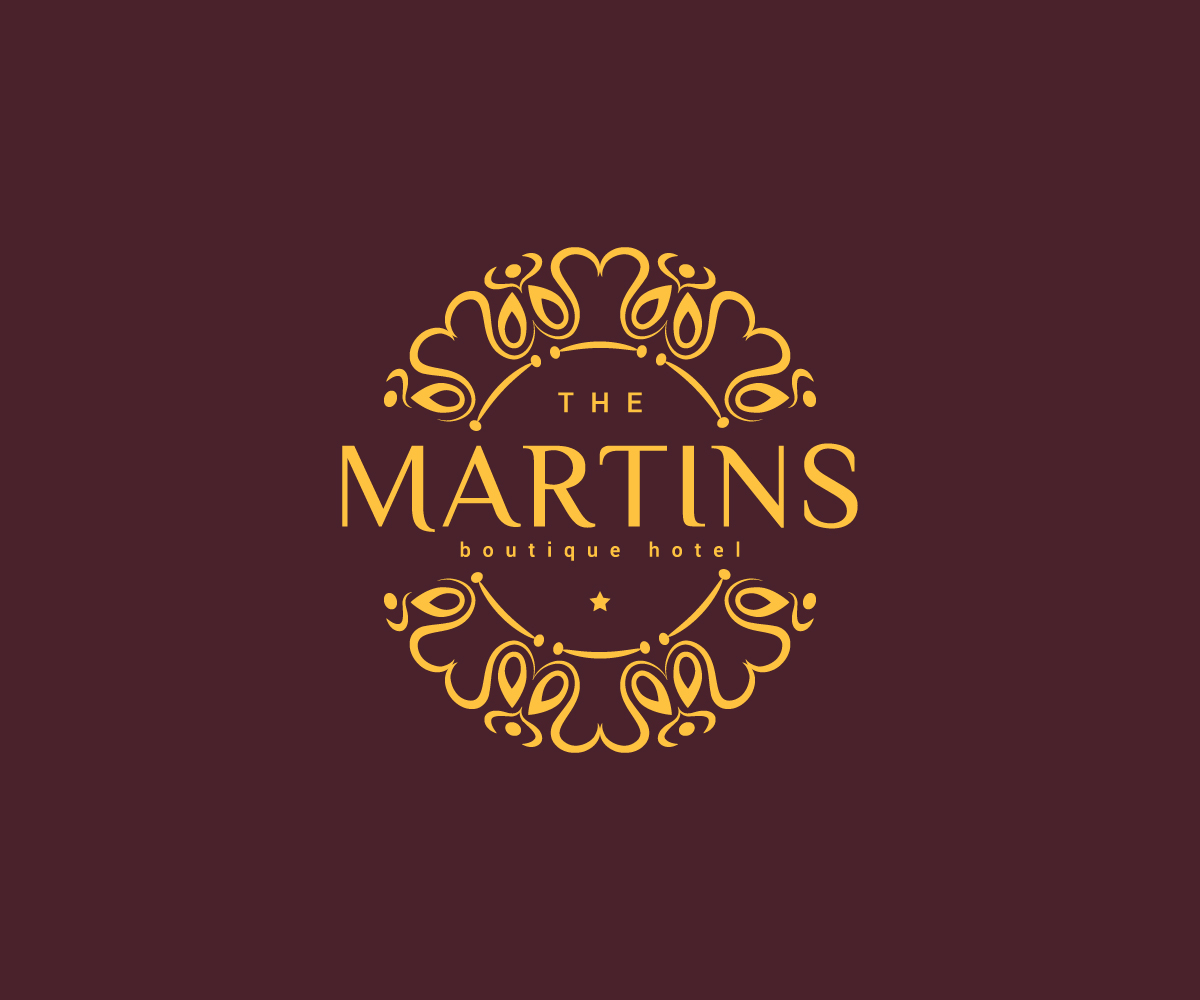 Business logo design for the martins boutique hotel by for Boutique hotel logo