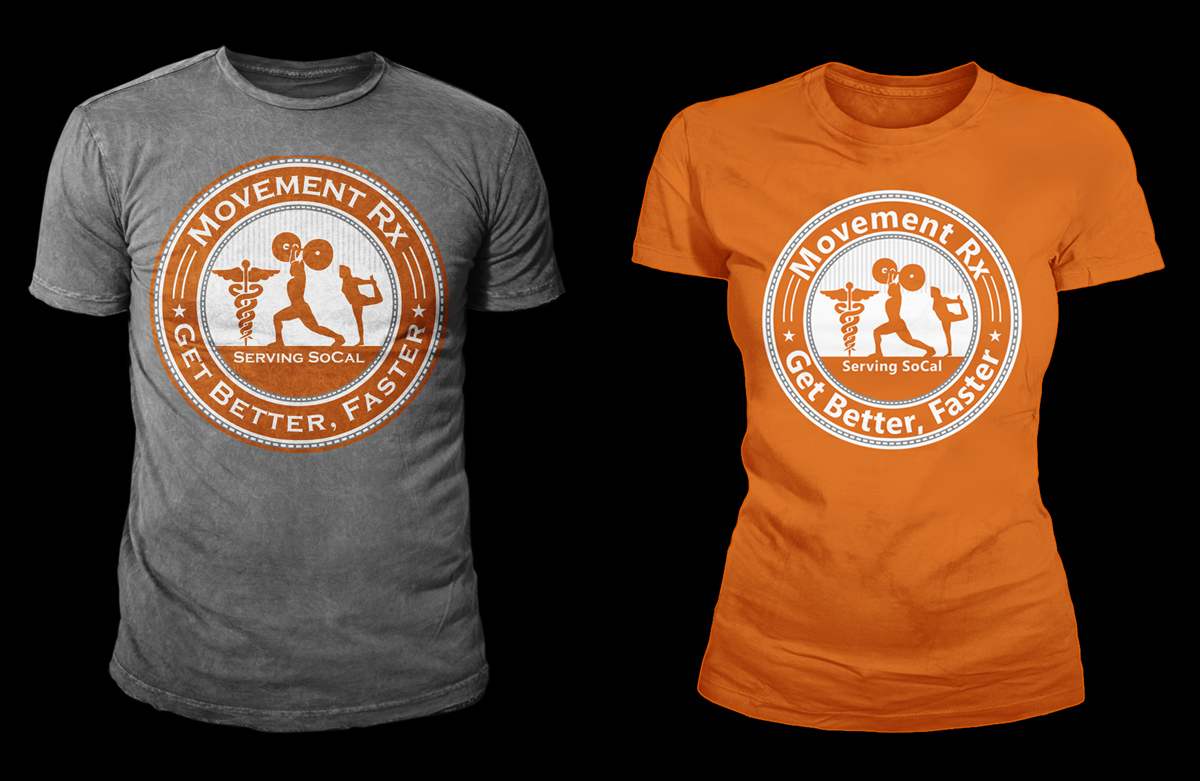 Who needs physical therapy - T Shirt Design By Kid Ink For Crossfit Based Physical Therapy Company Needs Evolution Of