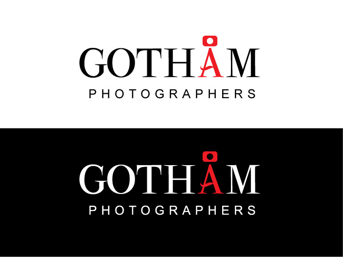 Logo Design by Elisha Leo for logo design - gotham photographers - Design #158480