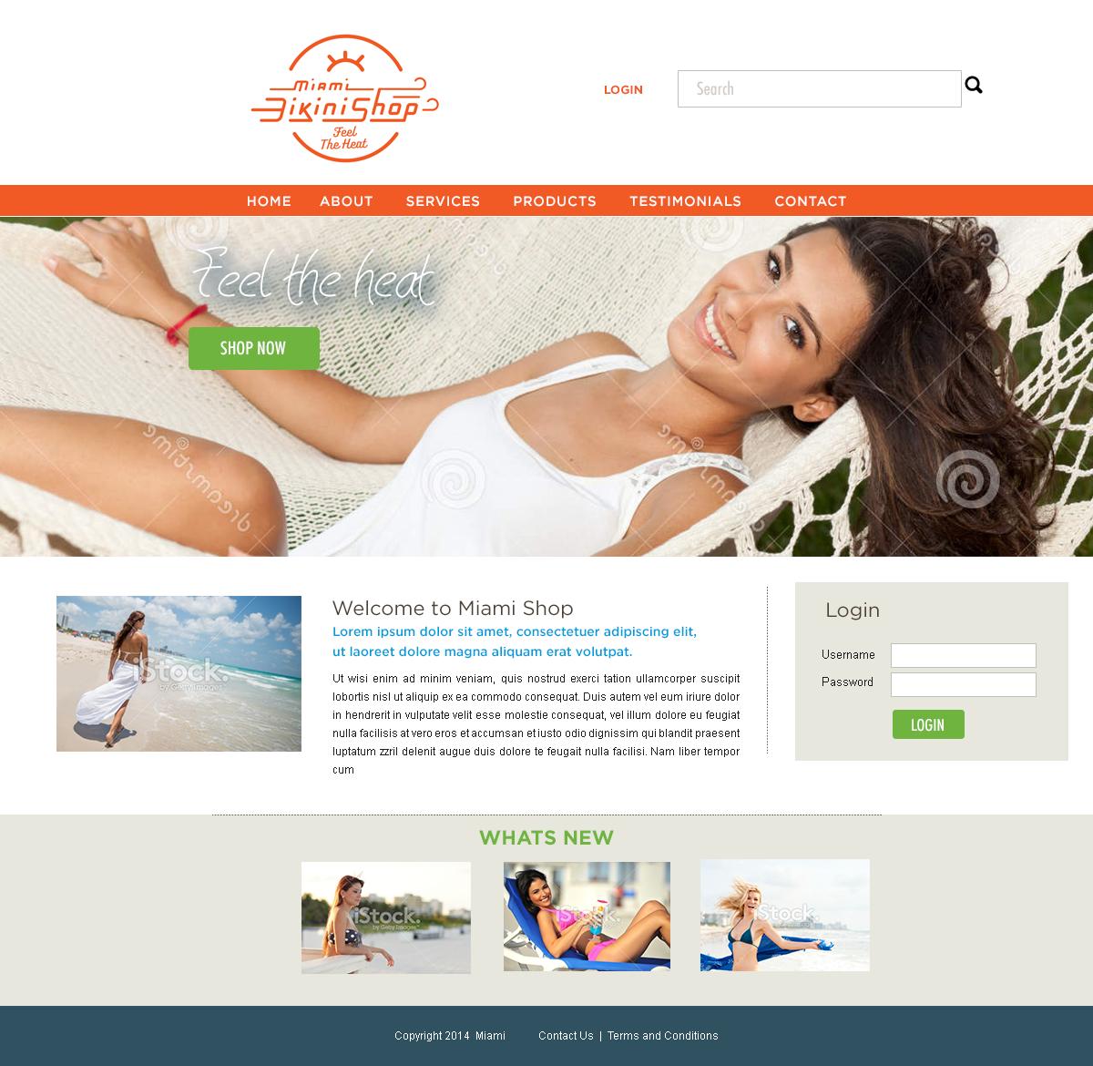 Character Design Job Singapore : Shop web design for heffernan inc by yadunath