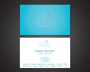 Business Card Design 1182317 Submitted To Beauty Therapy Closed