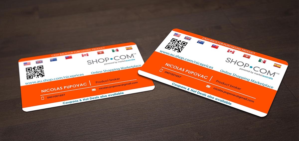 Business Card Design for nicolas pupovac by Pointless Pixels India ...