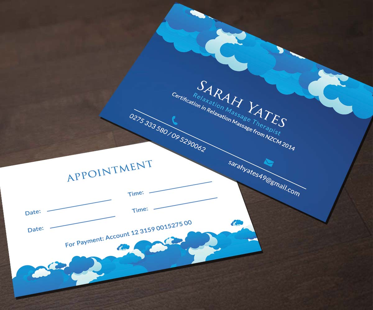 Serious, Modern Business Card Design for Sarah Yates by Smart ...
