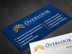 43 modern business card designs insurance business card design business card design by pointless pixels india for the overlook insurance advisory design reheart Images