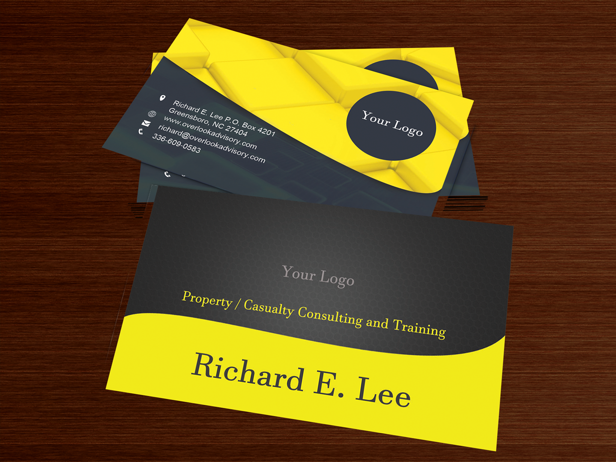 118 modern professional insurance business card designs for a