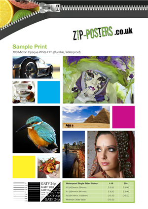 Poster Design by MooDesign - Zip-Posters Sample Posters