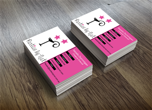 Party planning business cards