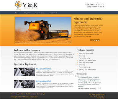 Custom Made Solar Website Design 161744