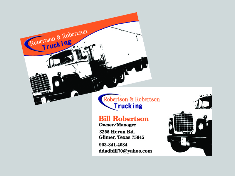 Trucking business cards famous truck 2018 trucking business cards card design and printing maple colourmoves