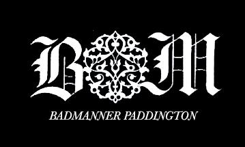 cafe logo design for badmanner paddington by akshaya