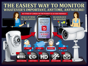 Graphic Design by designpay - CCTV Security Product / Editable Infographic