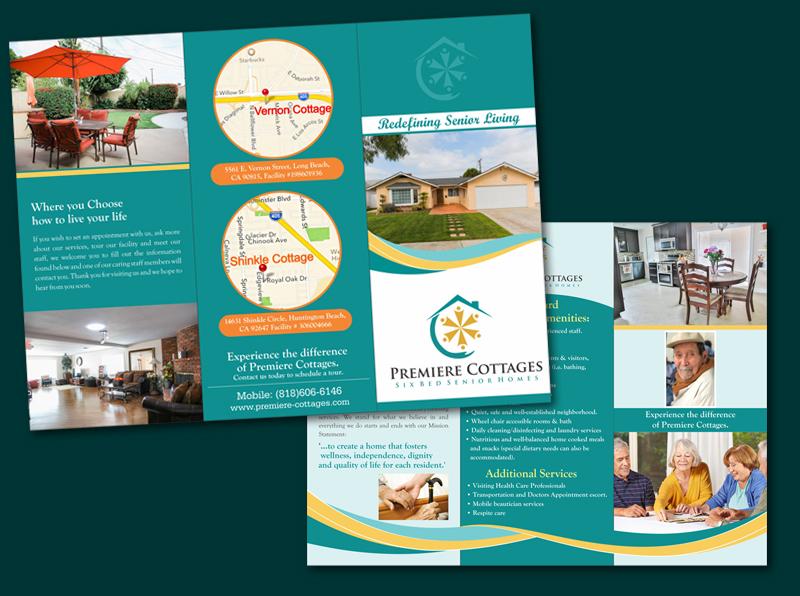 Senior Care Homes Needs Brochure Design 35 Brochure