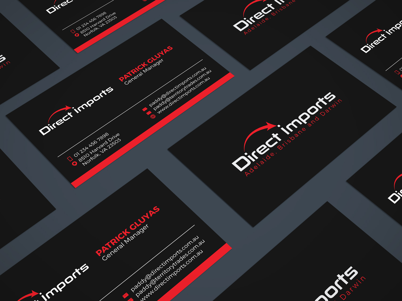 Upmarket modern business business card design for a company by business card design by jk18 for this project design 14460201 reheart Gallery