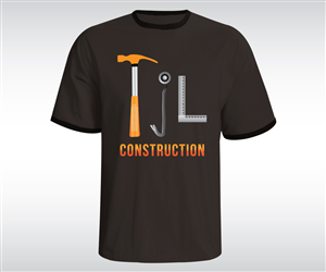 Tjl Construction T Shirt Design By Saiartist