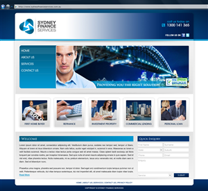 Broker Web Page Design 1184248