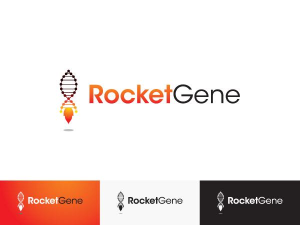 Logo Design by Goh for RocketGene: Modern cool logo challenge! - Design #165962
