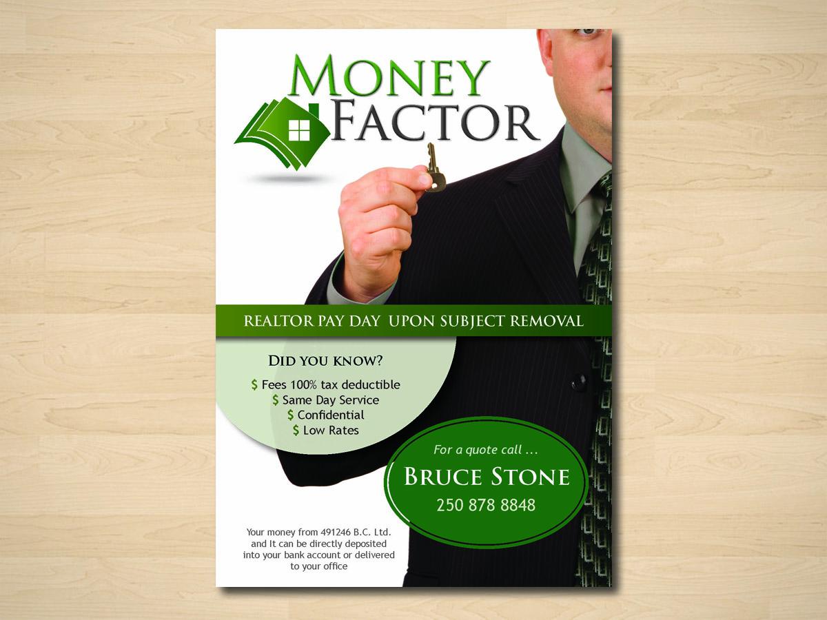 flyer design by alison for money factor design 1178618