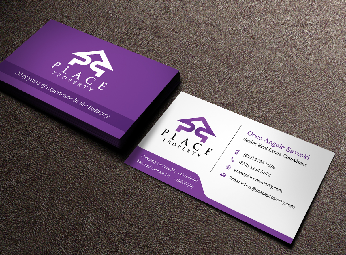 Real Estate Business Card Design for a Company by Owaisias | Design ...