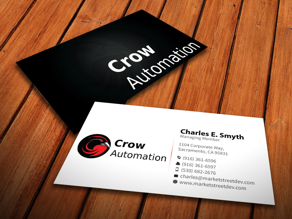 E-home Automation By Design Part - 34: Business Card Design By MediaProductionArt For Online Home Automation  Business Needs Business Card Design - Design