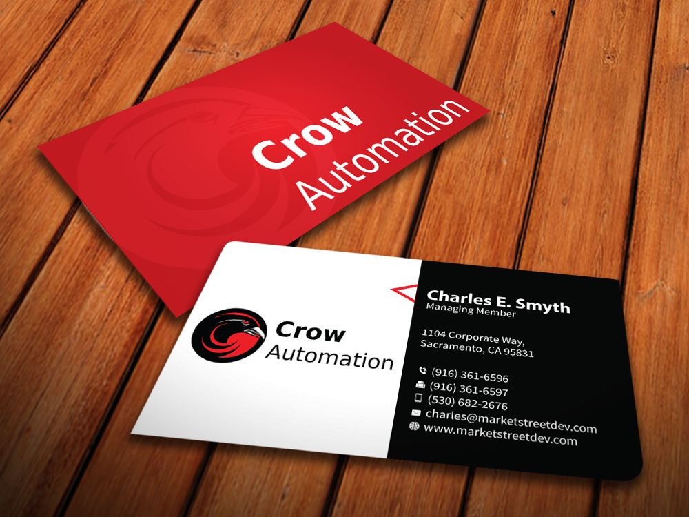 Business Card Design for Jody Crow by MediaProductionArt | Design ...