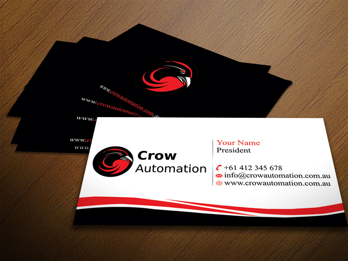 Business card design for jody crow by infinitedesign design 4179604 business card design by infinitedesign for online home automation business needs business card design design magicingreecefo Gallery