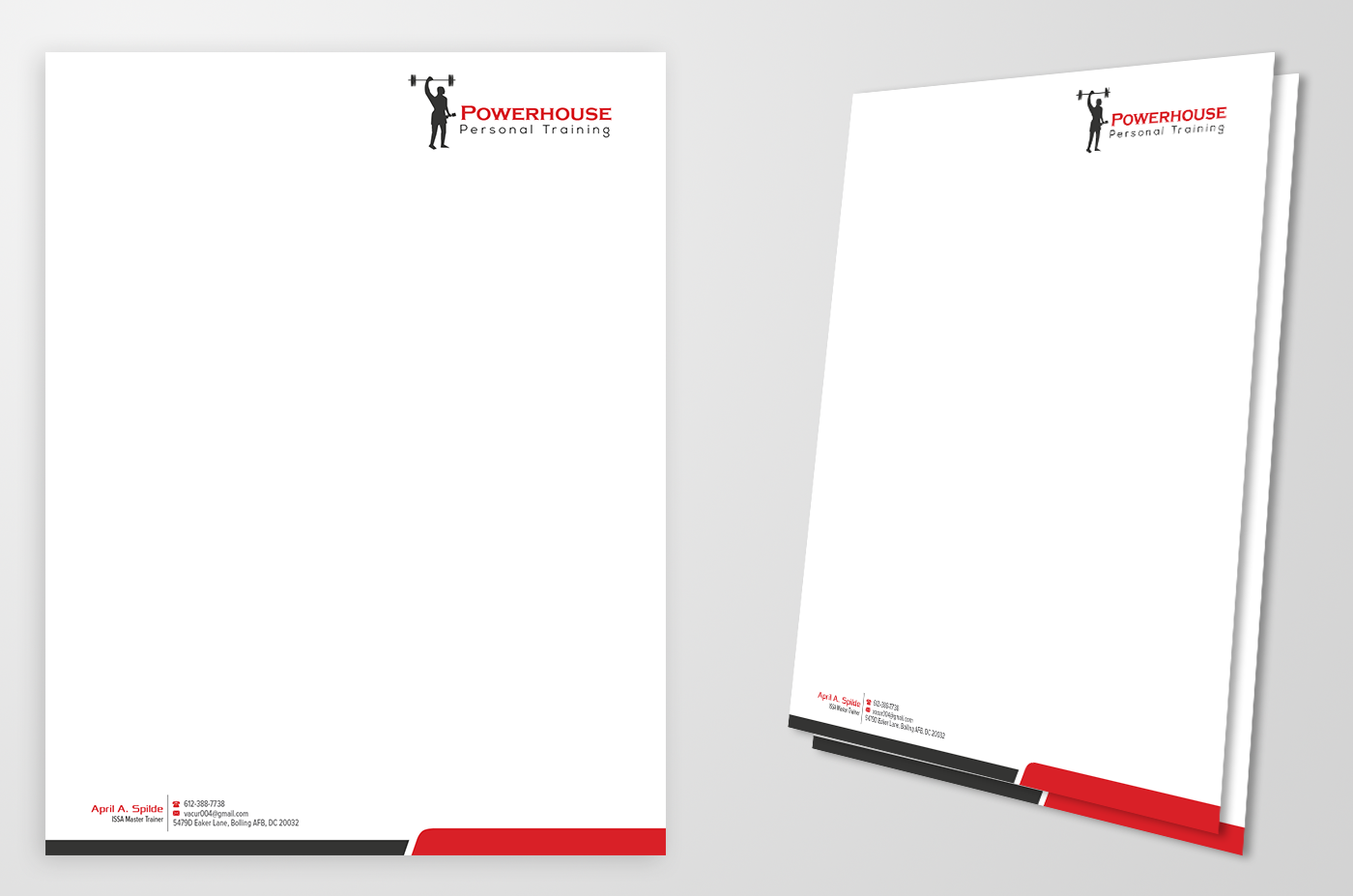 Letterhead Design By Kousik For This Project