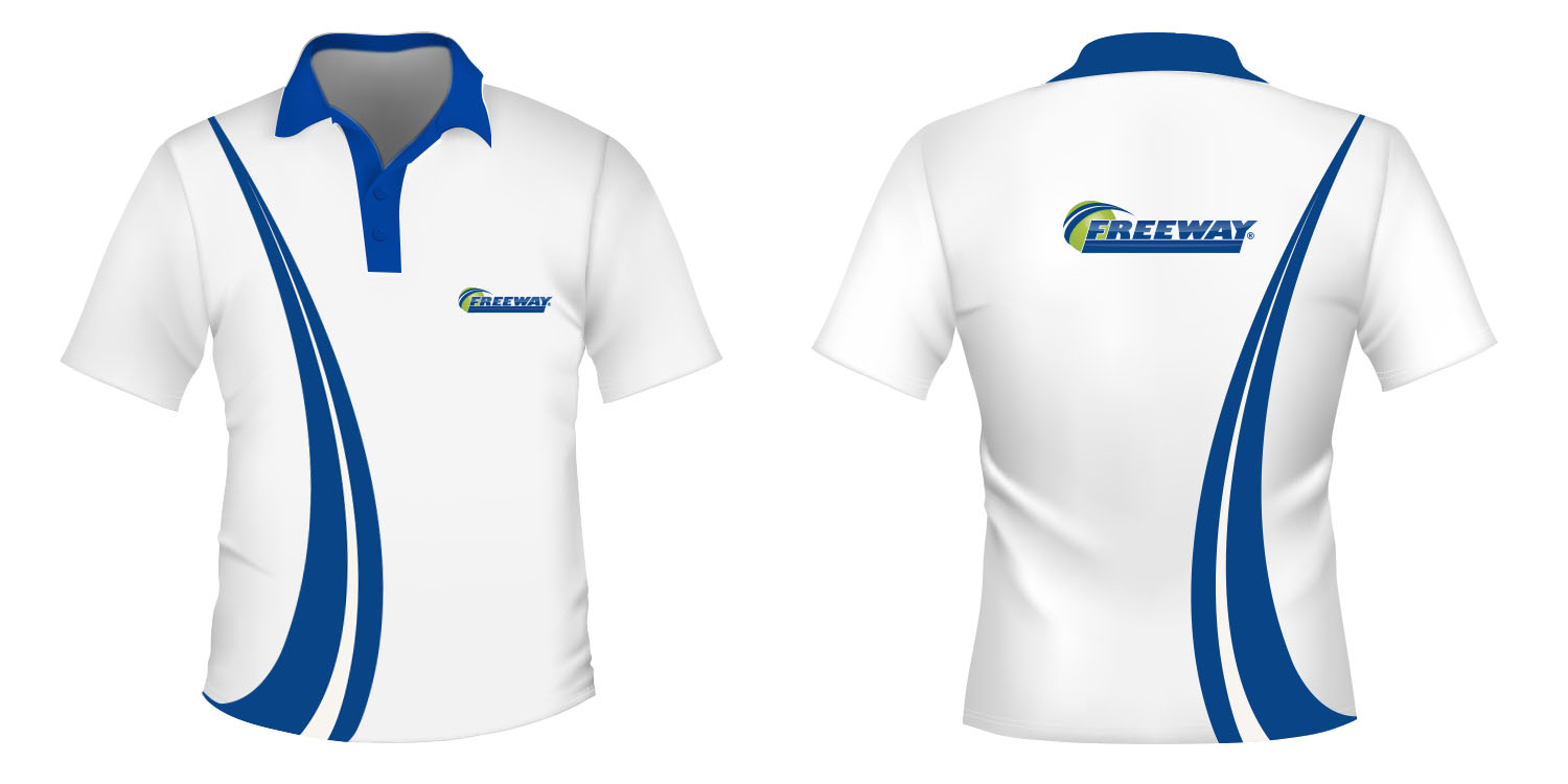 Insurance t shirt design for freeway insurance services for Make photo t shirt online