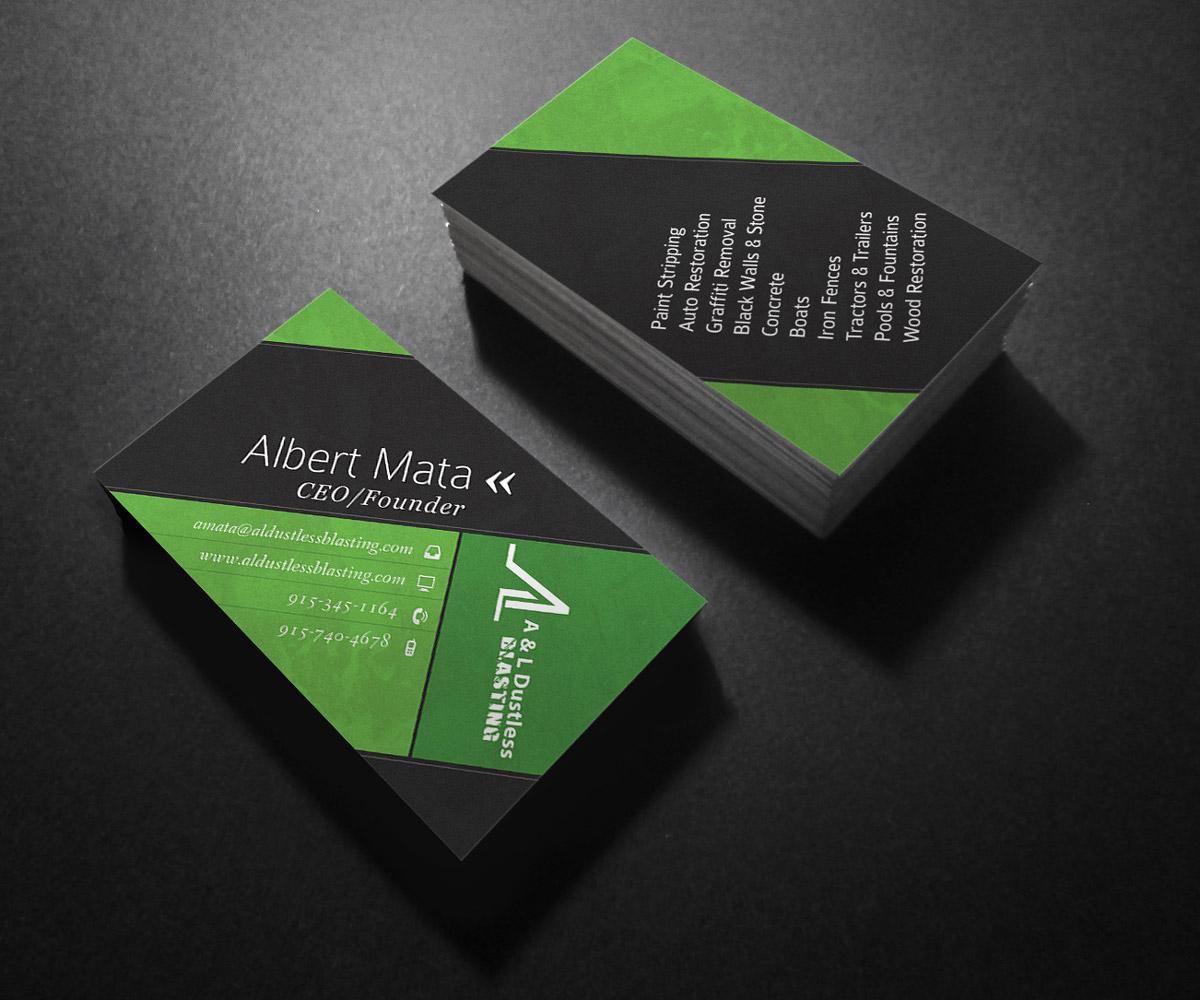 Professional, Elegant Business Card Design for Albert Mata by ...
