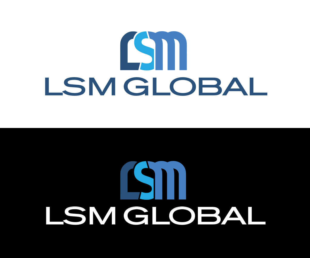 Marketing logo design for lsm global by thomas dehart for Global design company