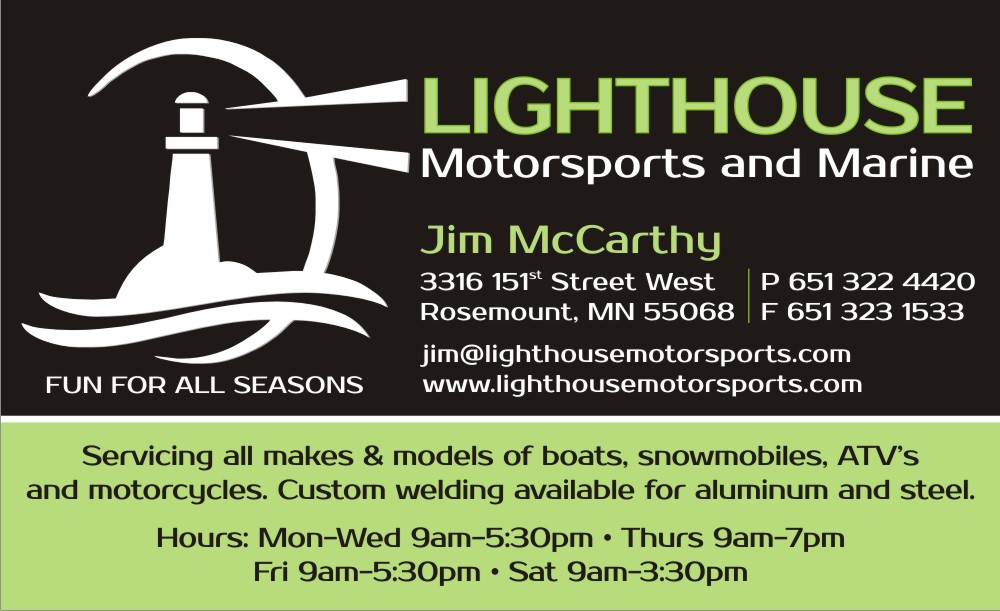 Business Card Design for Lighthouse Motorsports and Marine by Rozita ...