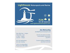 31 business card designs business business card design project for business card design by cdiaz for lighthouse motorsports and marine design 4204169 colourmoves