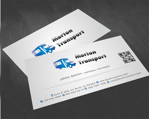 29 business card designs trucking company business card design business card design by awsomed for this project design 4191858 reheart Choice Image