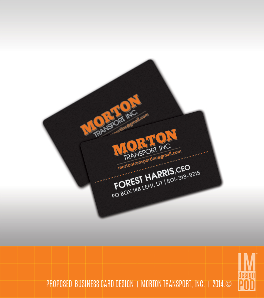 Trucking company business card design for a company by studio 17 business card design by studio 17 for this project design 4232663 reheart Choice Image
