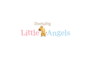 Logo Design for Dressing Little Angels is a childrens clothing line that needs a logo.  by Mandy Illustrator