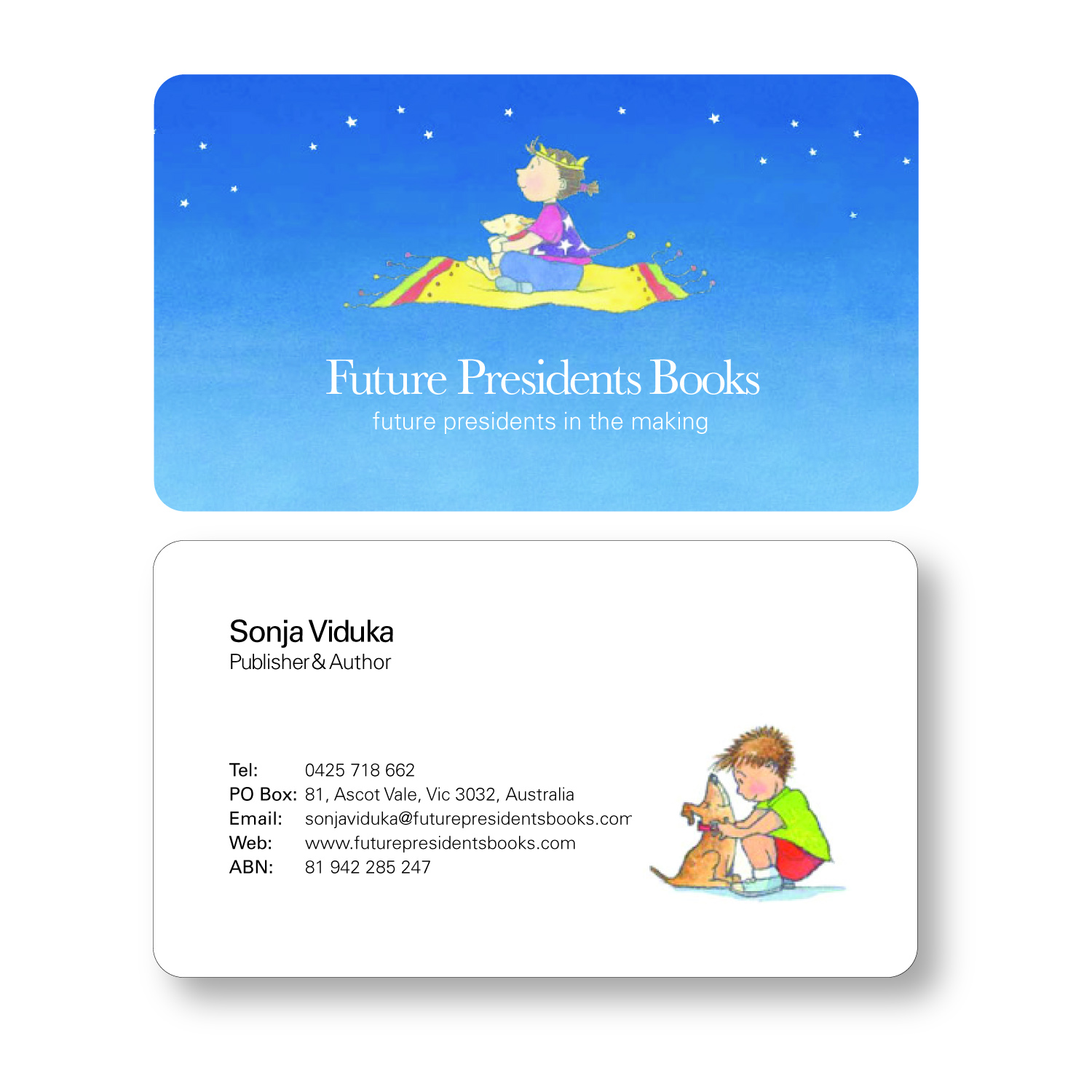 Playful, Modern Business Card Design for Sonja Viduka by ...