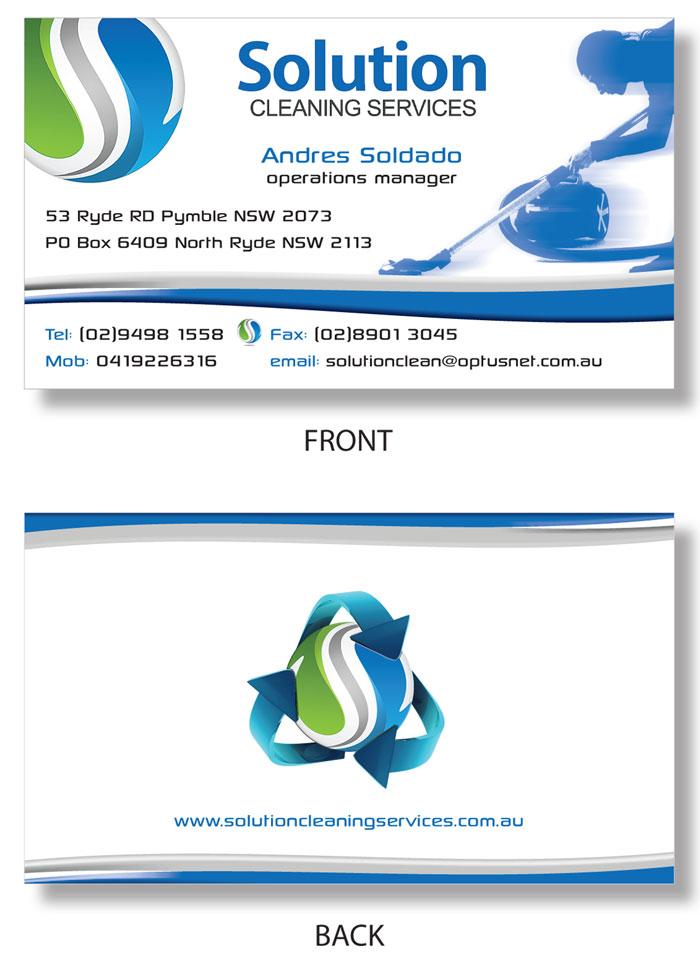 Elegant, Playful Business Card Design for ANDRES SOLDADO by ...