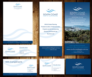 Graphic Design by AngelGu - Stationary Suite for Aussie Law Firm