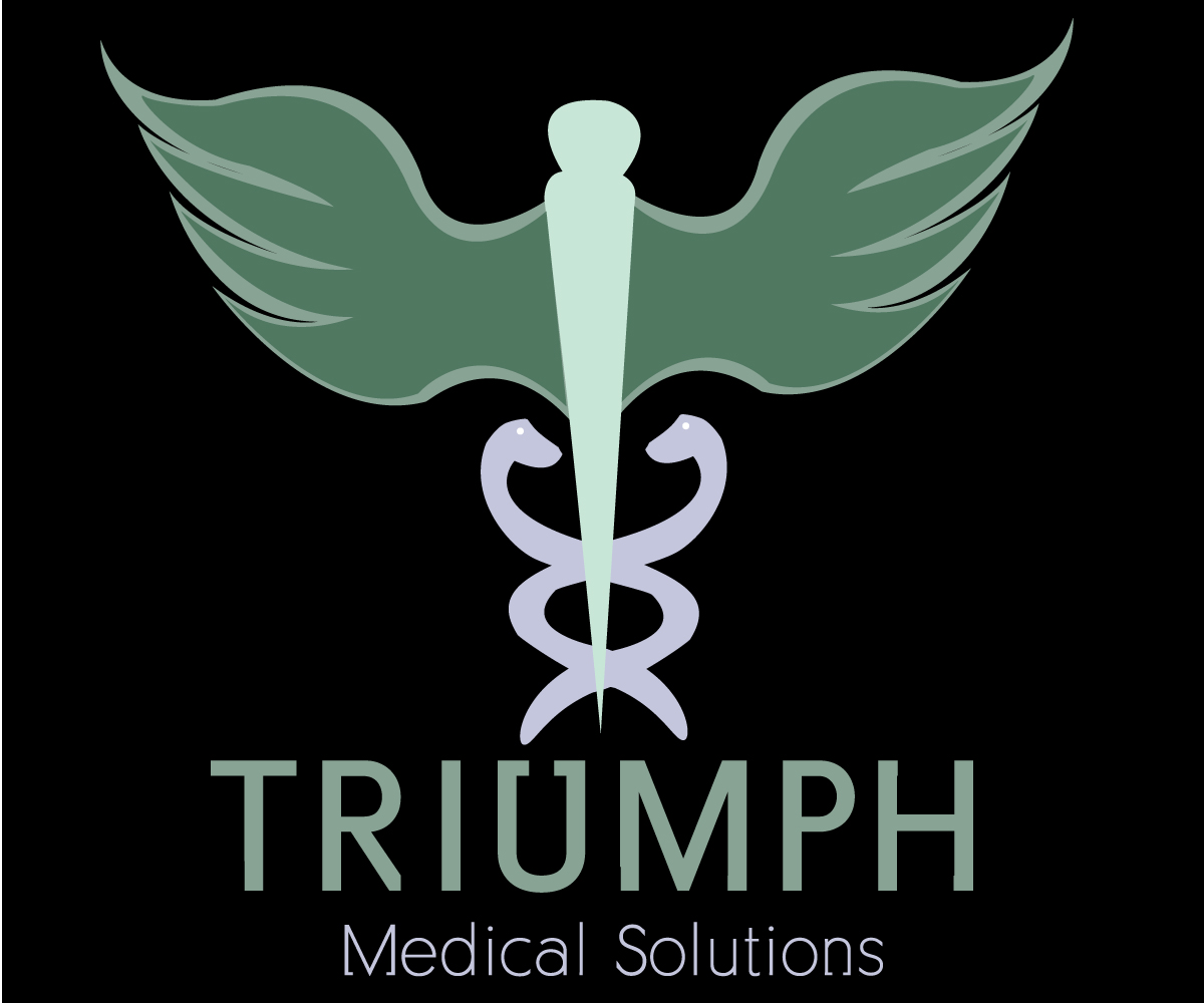 Medical Logo Design For Triumph Medical Solutions By Kc Design