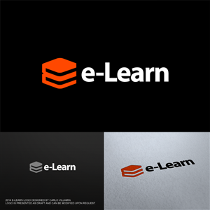 Logo Design by CDG - e-Learn needs a new logo