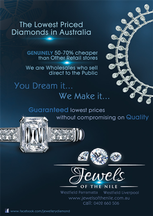 Jewelry Flyer Design Galleries for Inspiration