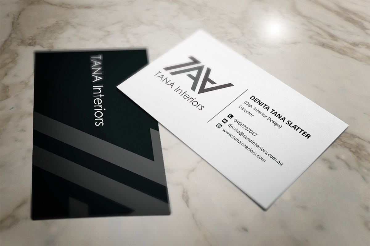 47 professional business business card designs for a business business in australia for Interior designers business cards