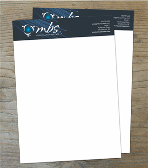 Anchor Template With Border - Nautical Stationery Template